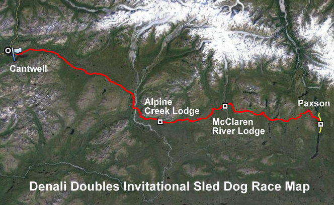 Denali Doubles GPS  Kaiser Racing Kennel - Bethel, Alaska - Google Chrome 2132014 63245 PM