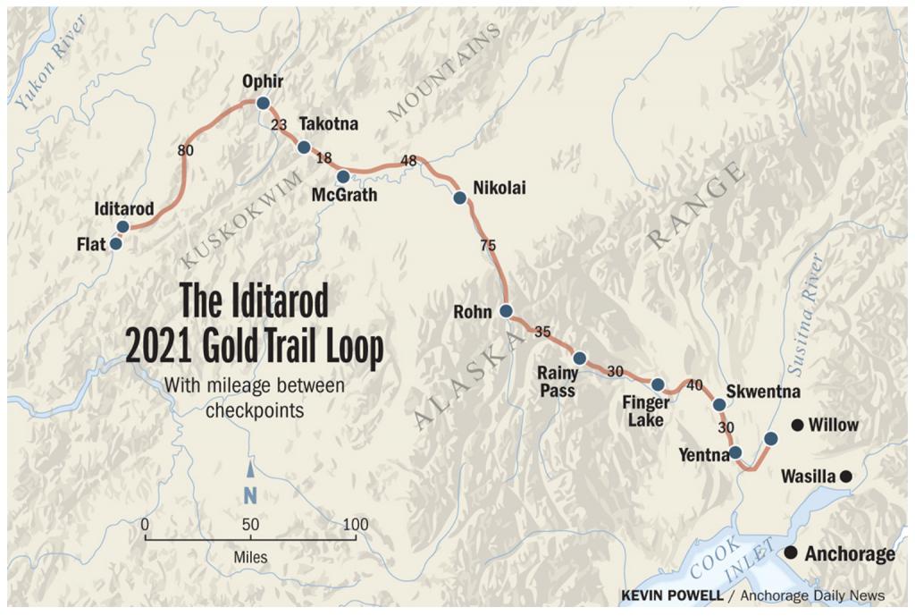 2021 Race Map